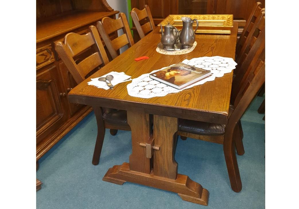 ST-30.Jedálenský stôl so 6x stolička